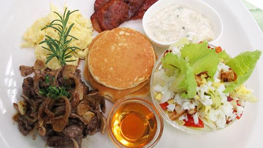 美式早午餐