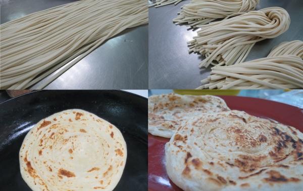 中式麵食加工丙級-水調麵(冷水燙麵類)