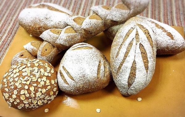 歐式天然菌種麵包